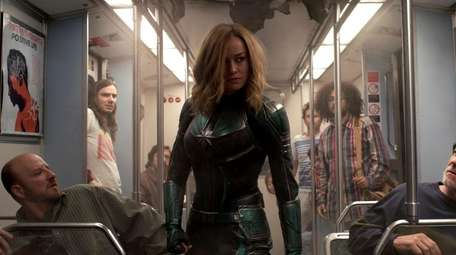Carol Danvers / Captain Marvel, played by Brie