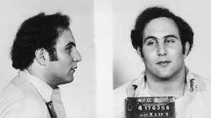 Police mug shot showing captured serial killer David