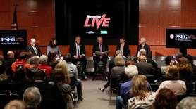 At a 'Newsday Live' event on Monday, March