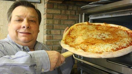 Owner Vincent Monaco of Little Vincent's Pizza in