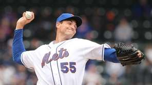 Chris Young #55 of the New York Mets