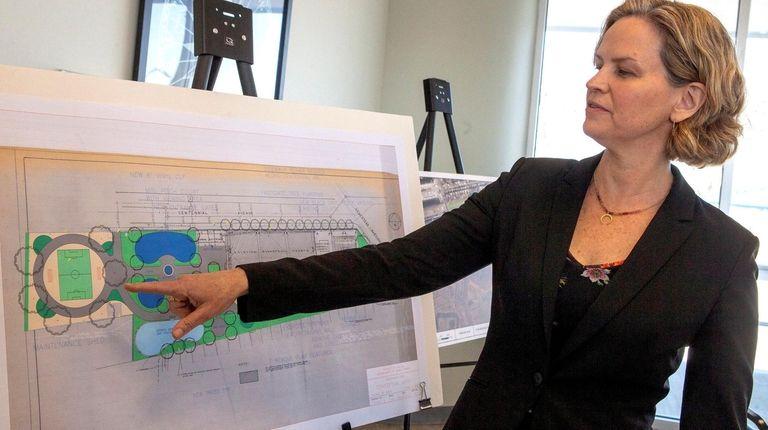 Nassau County Executive Laura Curran unveils parks revitalization