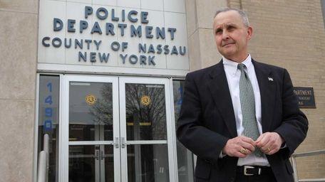 Nassau police headquarters in Mineola