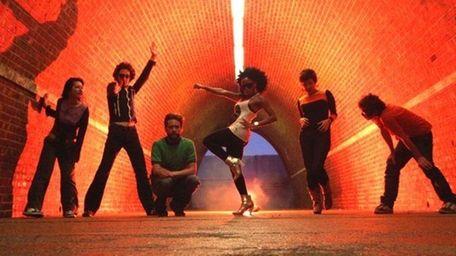 The Go! Team combines cheerleader chants and dance