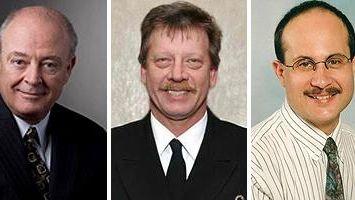 Thomas B. Lally, Eric Schmidt and John Bilello