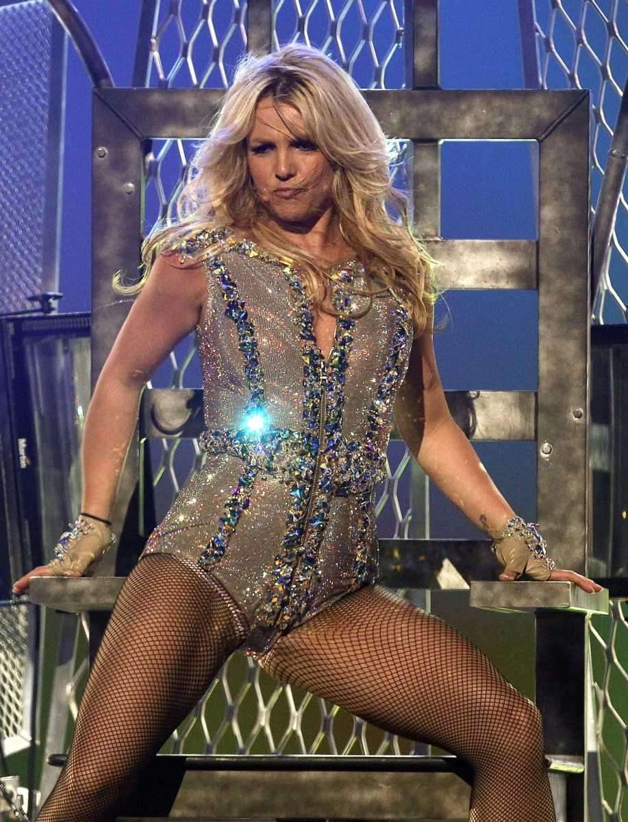 Britney Spears performs on ABC's
