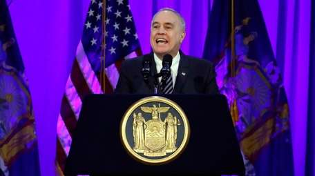 New York State Comptroller Thomas DiNapoli delivers his