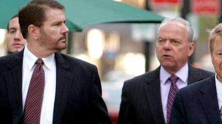 James Galante, left, at U.S. District Court in