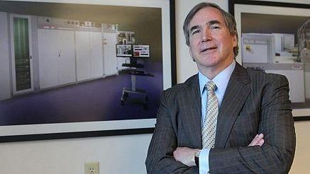 Veeco chief executive John Peeler at company offices