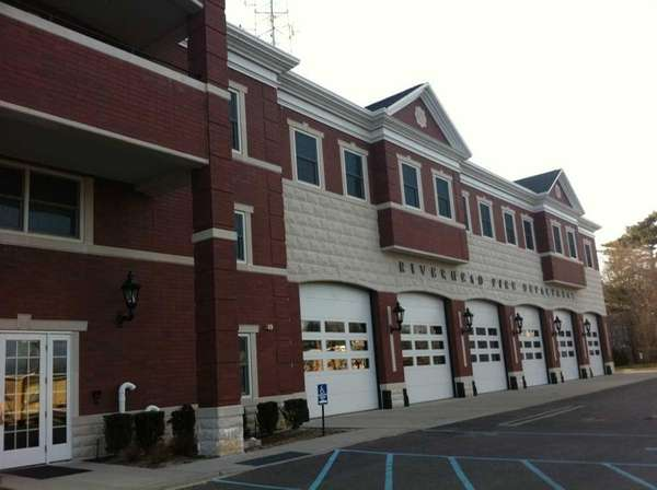 The Riverhead Fire Department in downtown Riverhead. (March