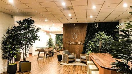 Inside The Botanist Queens, a medical marijuana dispensary