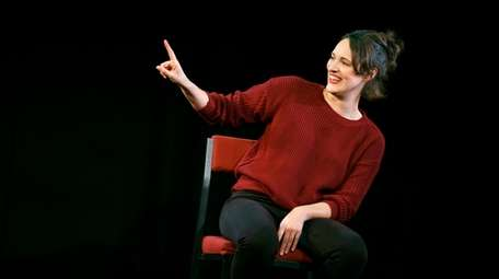 "Phoebe Waller-Bridge stars in ""Fleabag"" at SoHo Playhouse."