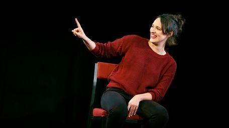 "Phoebe Waller-Bridge stars in ""Fleabag"" at SoHo Playhouse."