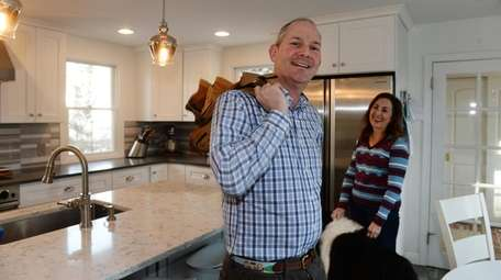 Robert and Susan Grubman in their newly renovated