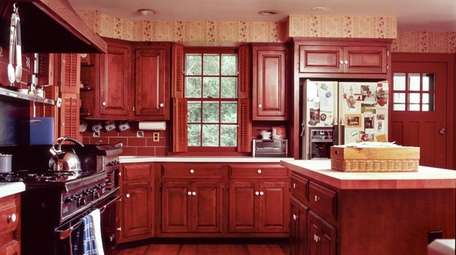 The Grubmans' old kitchen in Syosset was too