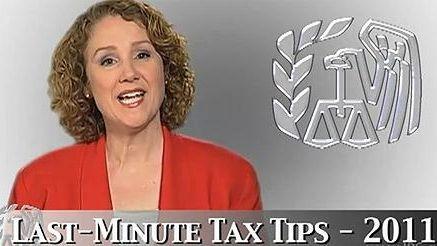 Internal Revenue Service tax-help video. (Undated)