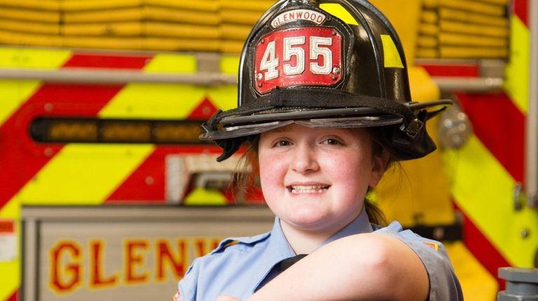 Diana Roper of Glenwood Landing, 11, a member