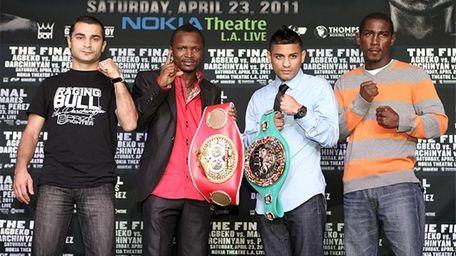 Bantamweight Fighters - Vic Darchinyan, Joseph Agbeko, Abner