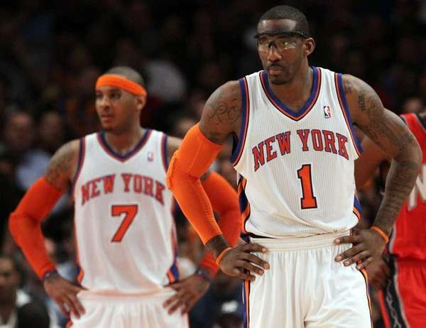Amar'e Stoudemire will miss the next two games