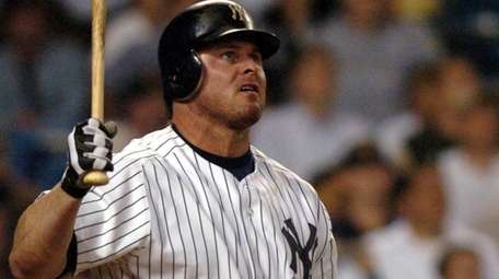 Jason Giambi homers in the bottem of the