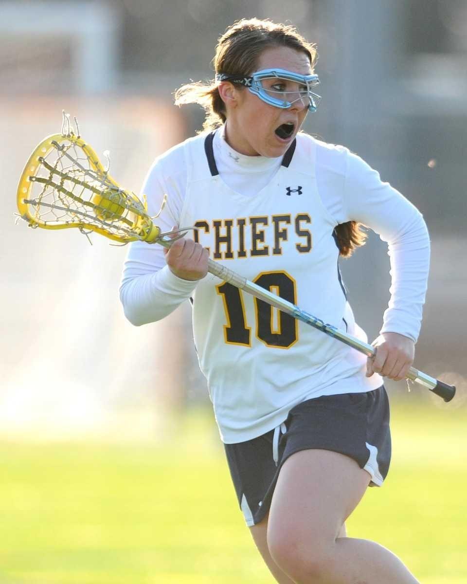 Massapequa High School #10 Danielle Doherty looks for