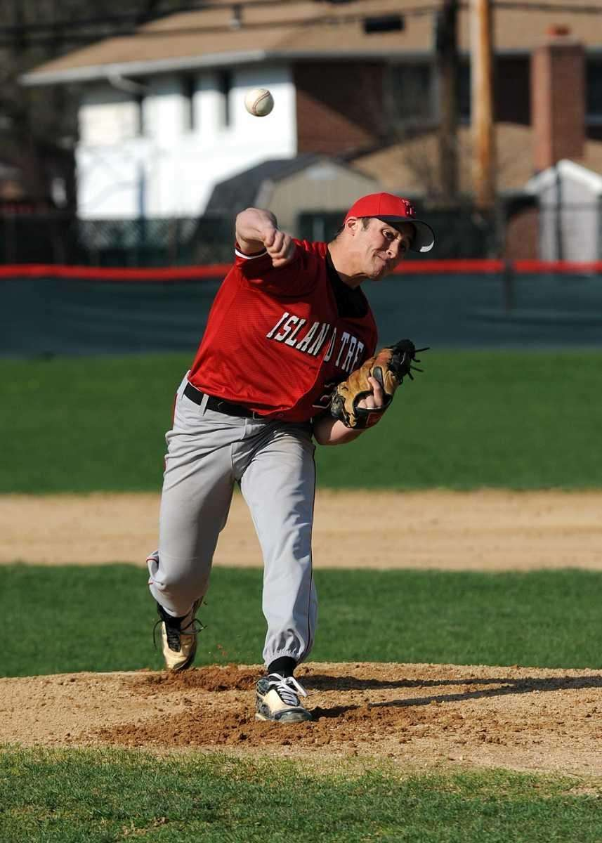 Island Tree's Mike Jeannetti (20) pitched 7 strong