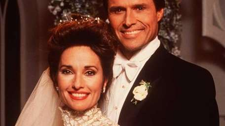 Susan Lucci and Michael Nader as Erica and