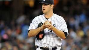New York Yankees starting pitcher Phil Hughes (65)