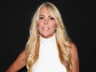 Dina Lohan seen backstage at the Vivienne Hu