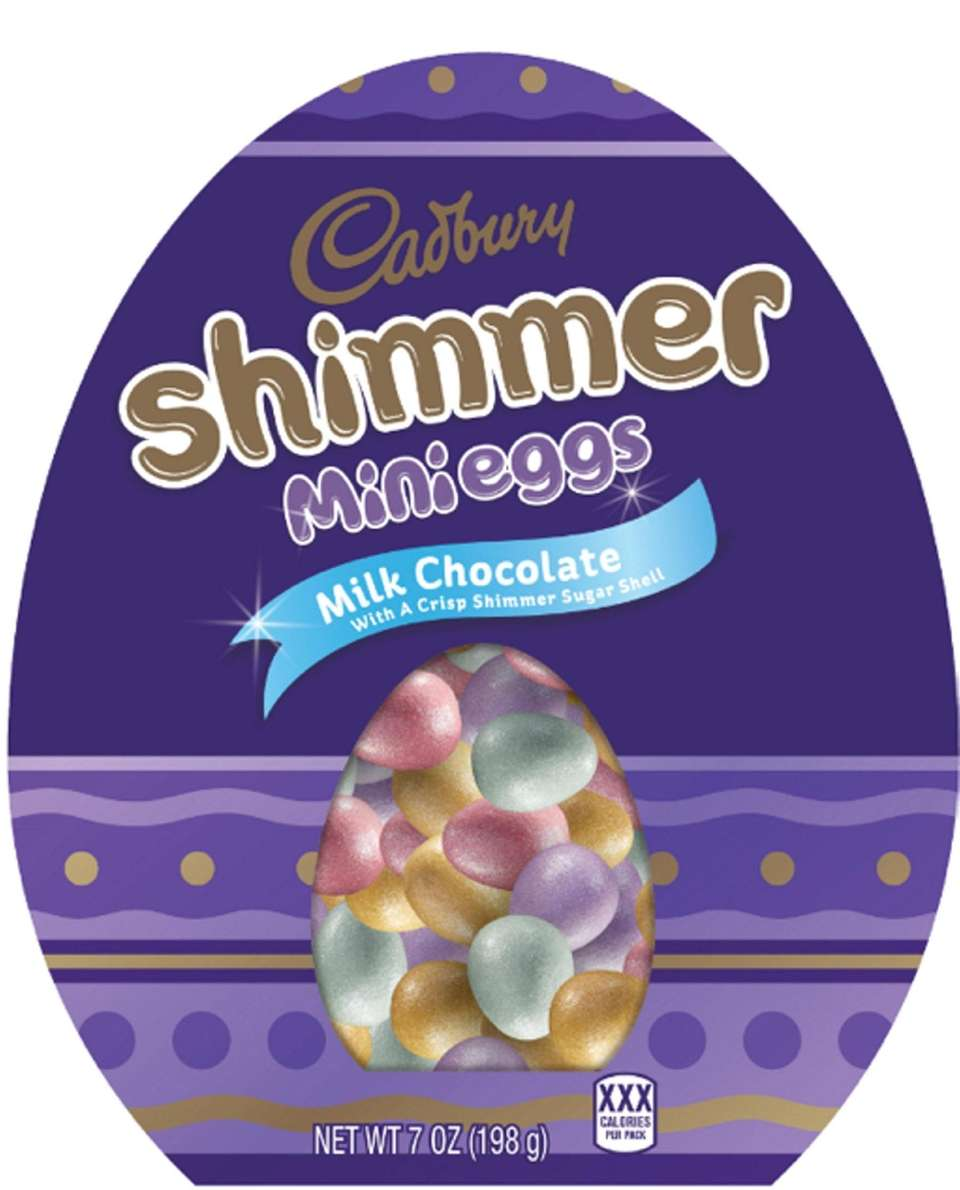 These new mini milk chocolate eggs feature a