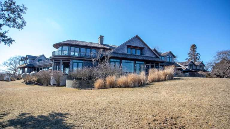 This seven-bedroom home on 1.46 acres in Water