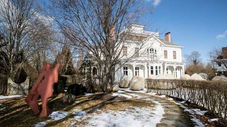 Built in 1833, this historic Sag Harbor seven-bedroom