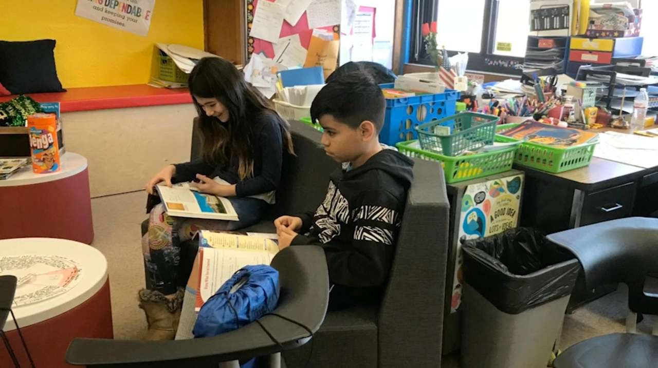 The Levittown school district has transformed five fifth-grade