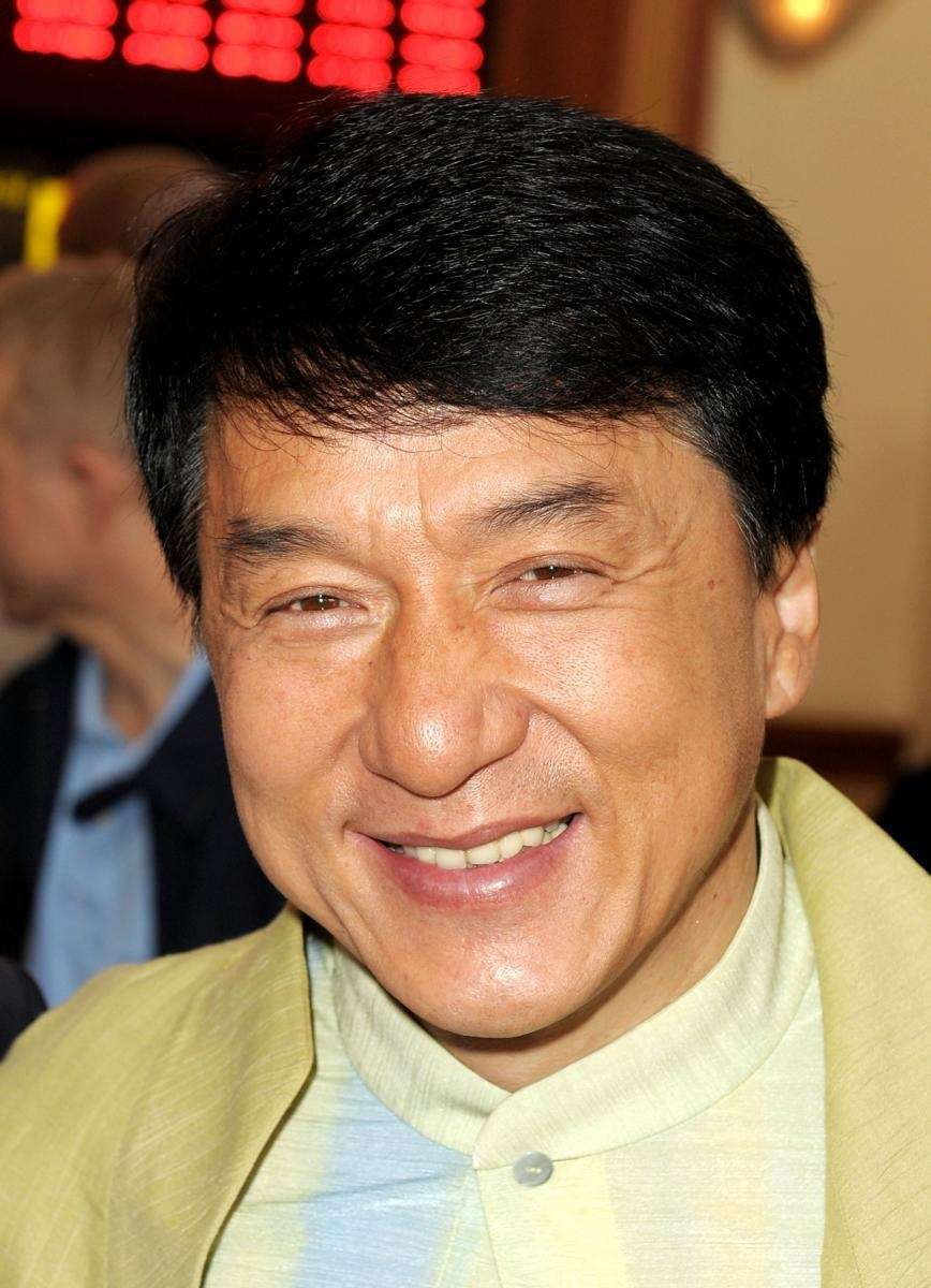 Stage name: Jackie Chan Birth name: Chan Kong-Sang