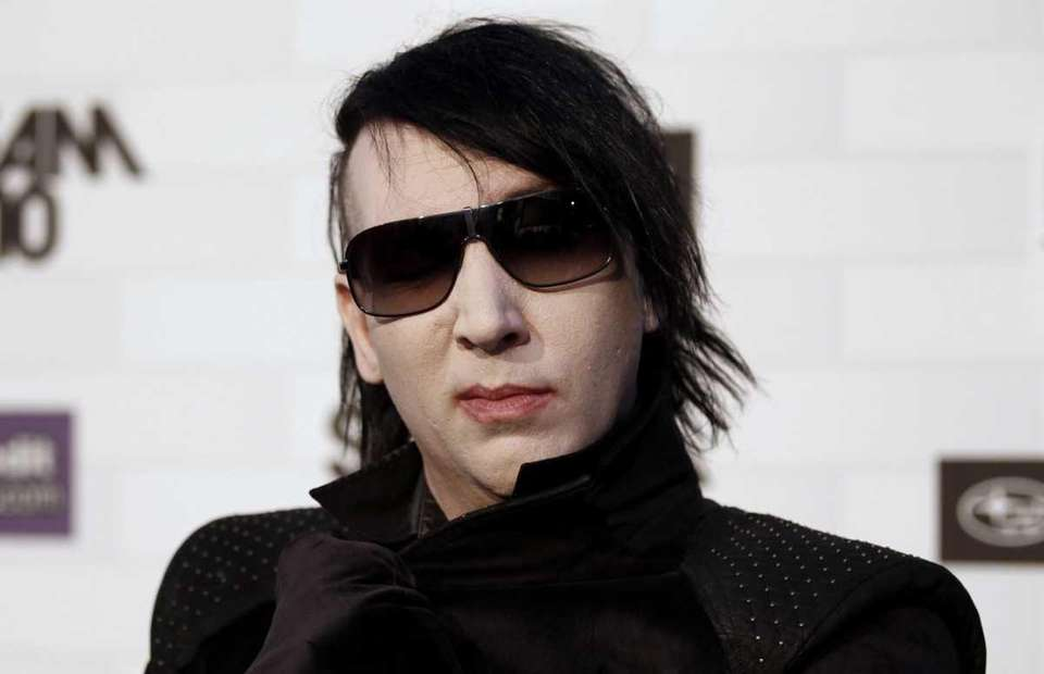 Stage name: Marilyn Manson Birth name: Brian Hugh