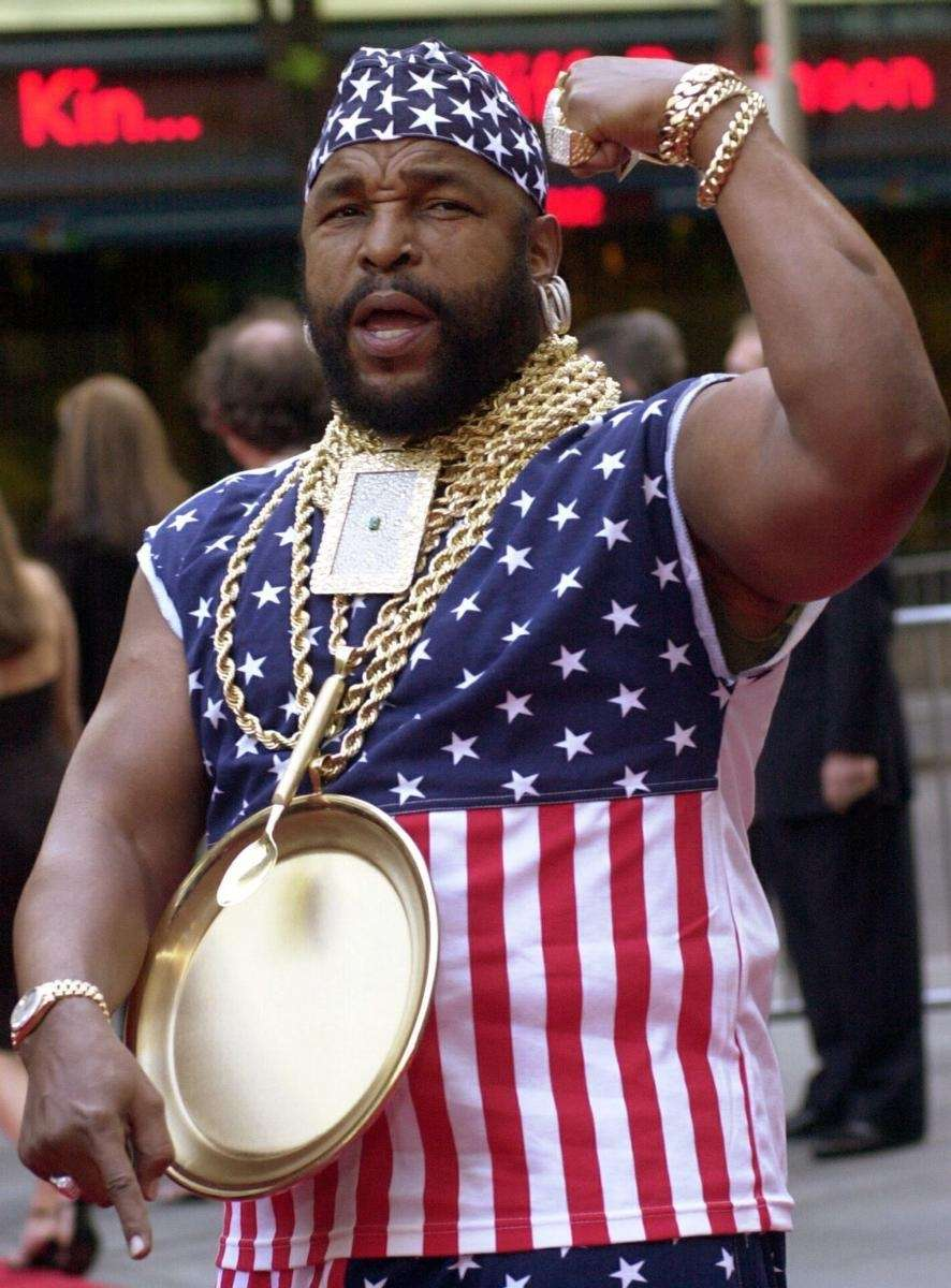 Stage name: Mr. T Birth name: Lawrence Tero