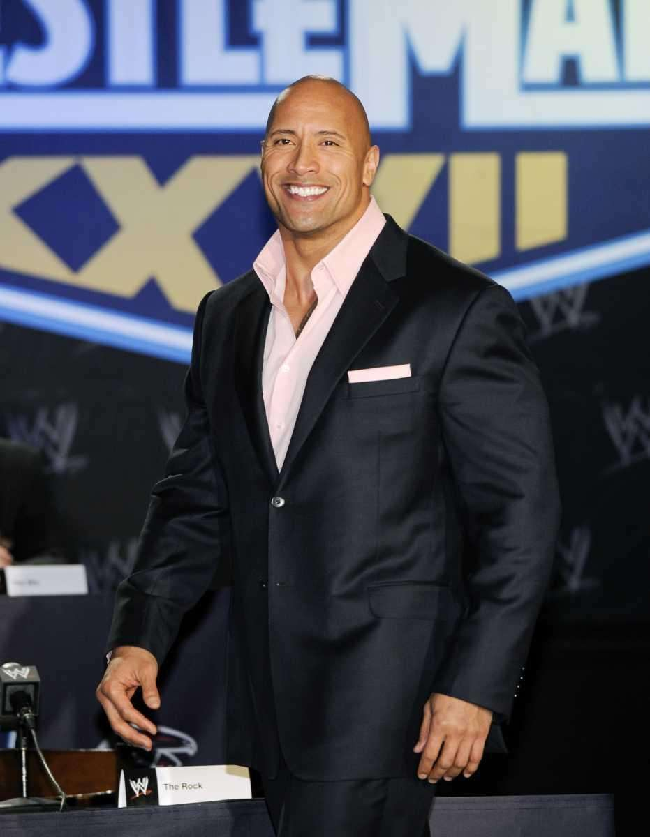 Stage name: The Rock Birth name: Dwayne Douglas