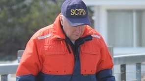 Suffolk County police marine units collect potential evidence