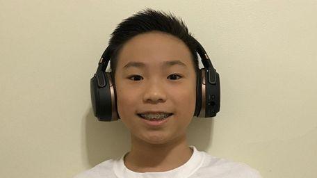 Kidsday reporter Benson Tang of Nathaniel Hawthorne Middle