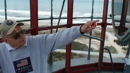 Chris Specht, a Fire Island Lighthouse volunteer and