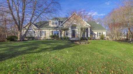 This East Patchogue farm ranch, for $584,900, includes