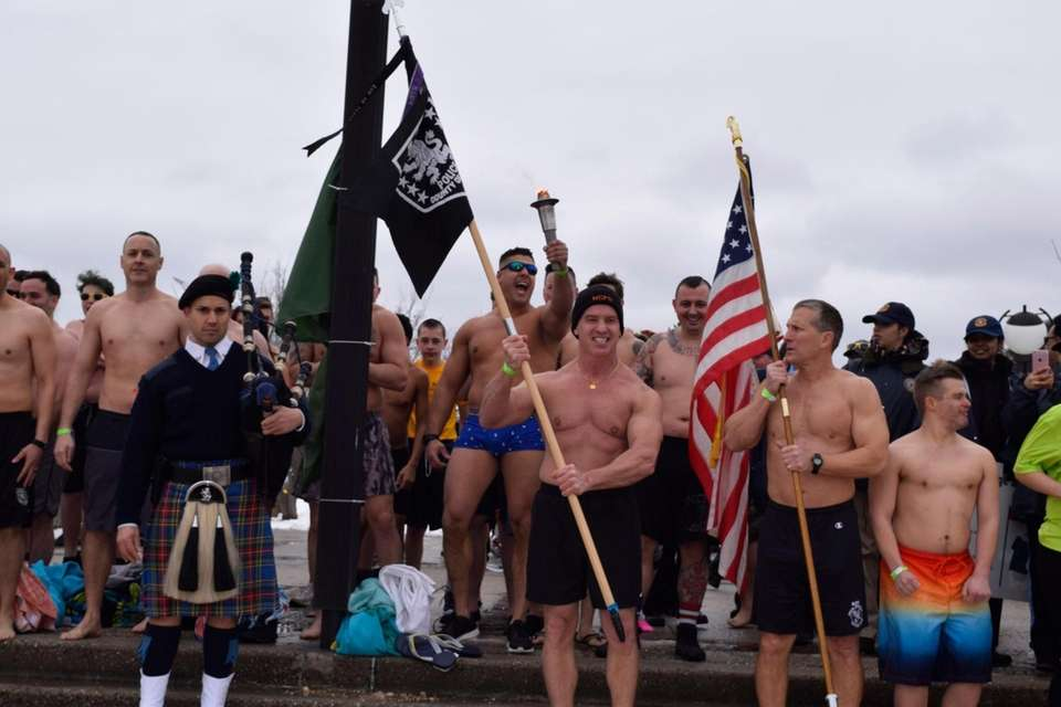 The 15th annual North Hempstead Polar Plunge was