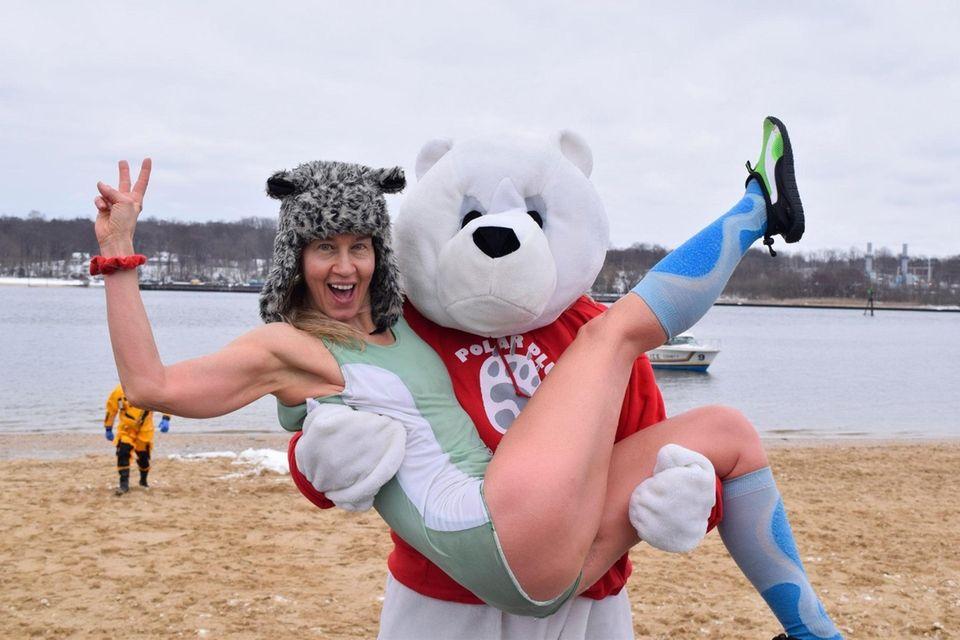 The 15th annual North Hempstead Polar Plunge was