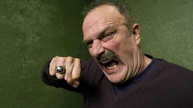"Wrestler Jake ""The Snake"" Roberts  will"