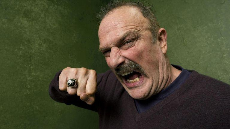 """Wrestler Jake """"The Snake"""" Roberts  will"""