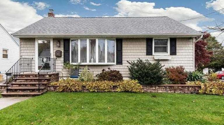 This Hicksville ranch is listed for $489,000.