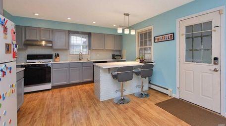 The Valley Stream home's kitchen.