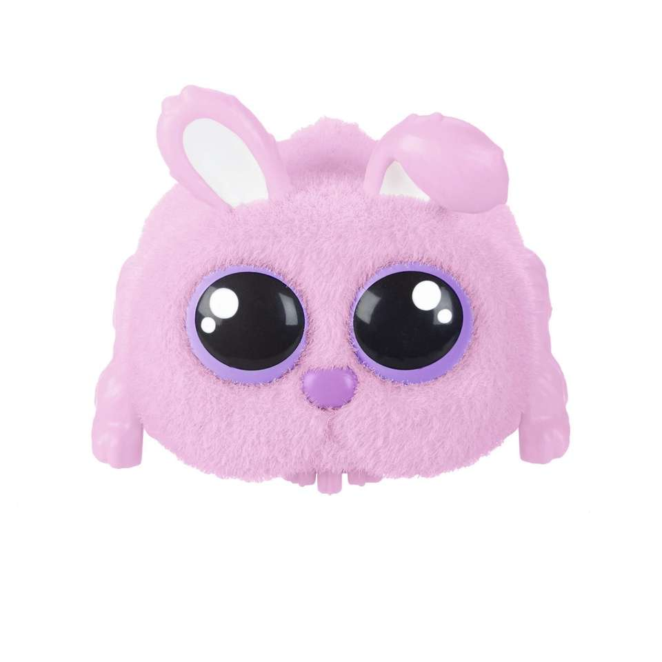 This sound activated plush toy responds to yelling,