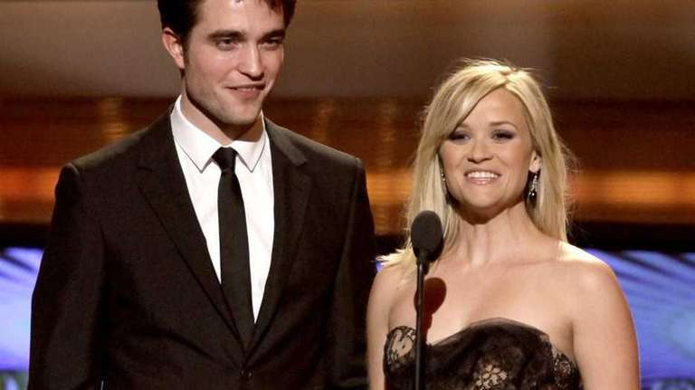 Robert Pattinson and Reese Witherspoon, co-stars in the