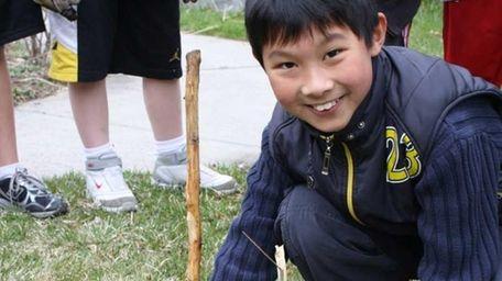 Yichen Song, 11, of Arrowhead Elementary in East